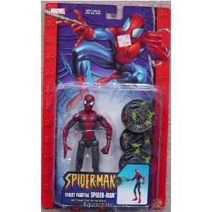 Spider Man (Street Fighting) from Spider Man (2002) Series 8