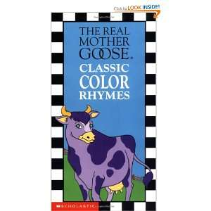 The Real Mother Goose Classic Color Rhymes (Board Book