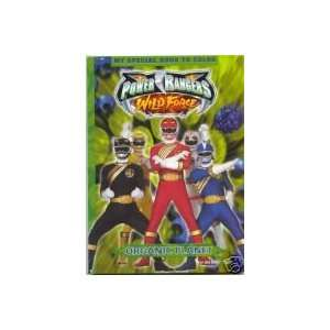 Power Rangers Wild Force Coloring and Activity Book