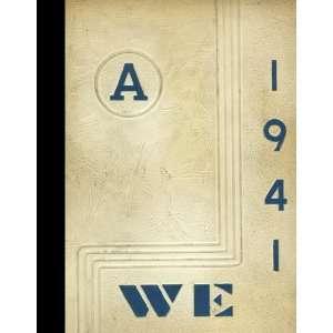 (Reprint) 1941 Yearbook Ada High School, Ada, Ohio Ada