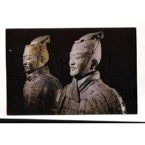 Postcard Warriors Terra Cotta Imperial Arts of China