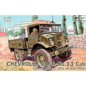 Chevrolet C15A No. Cab 13 General Service Military Truck 1 72 IBG