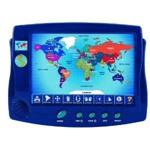 Scientific Toys Interactive Around the World Map Toys & Games
