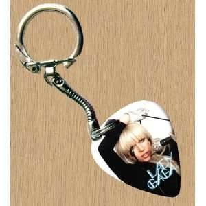 LADY GAGA Premium Guitar Pick Keyring: Musical Instruments