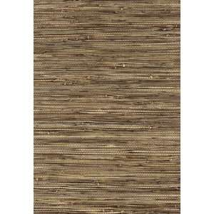 Bamba Rushcloth Ash by F Schumacher Wallpaper Home