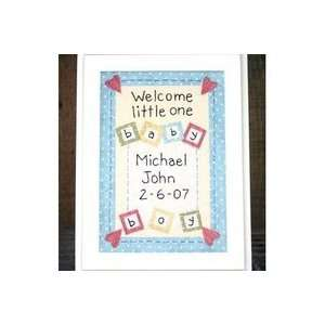 Little Stitchies   Baby Boy Stitchery Pet Supplies