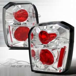 07 12 Dodge Caliber Euro Altezza Tail Lights   Chrome