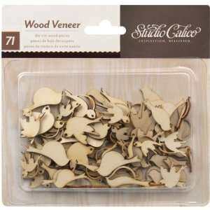 Take Note Birds Wood Veneer Shapes (Studio Calico) Arts