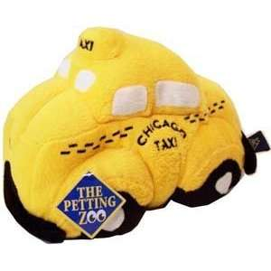 Plush Chicago Taxi Cab Pillow By the Petting Zoo  Toys & Games