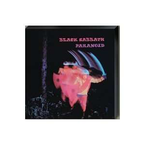 Black Sabbath Paranoid Giclee Print on Canvas