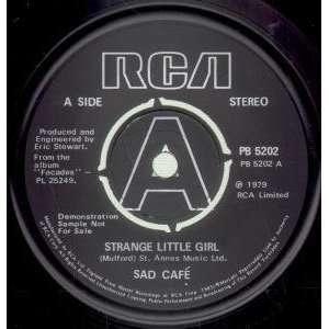 STRANGE LITTLE GIRL 7 INCH (7 VINYL 45) UK RCA 1979: SAD
