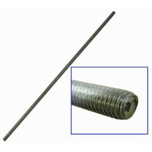 PKG(2) Steel Threaded Rod. 17 3/4 Long with a 3/8 16