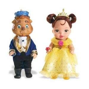 Disney Princess Enchanted Nursery Pairs Belle & Beast  Toys & Games