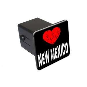 New Mexico Love   2 Tow Trailer Hitch Cover Plug Insert