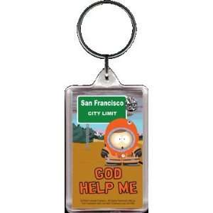 South Park God Help Me Keychain SK1982: Toys & Games