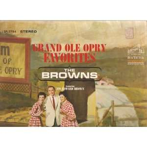 grand ole opry favorites LP BROWNS Music