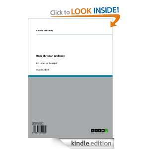 Hans Christian Andersen (German Edition) Claudia Gottschalk