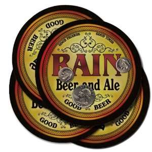 Rain Beer and Ale Coaster Set: Kitchen & Dining