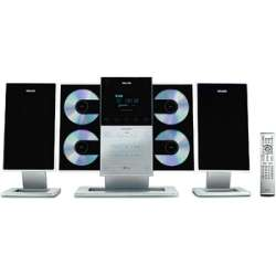Philips 4 Disc CD Mini Hi Fi Stereo System with  (Refurbished
