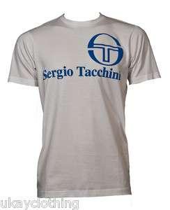 MENS SERGIO TACCHINI DESIGNER T SHIRT SIZE LARGE