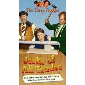 3 Stooges: Jerks of All Trades [VHS]: Three Stooges: Movies & TV