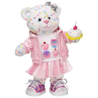 Heart Cupcakes Confetti Cupcake Bear   Build A Bear Workshop US