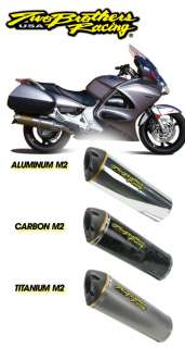 Two Brothers Racing Honda ST1300 Slip On Exhaust System 03 07