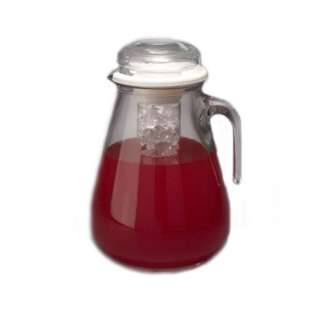 Glass Iced Tea Pitcher in Iced Tea Brewers & Sets at Mighty Leaf