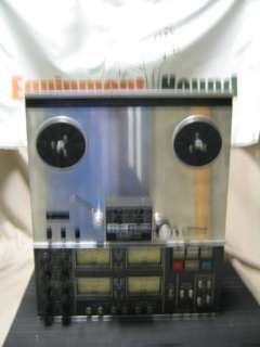 3340S VINTAGE 4 CHANNEL REEL TO REEL MULTI TRACK TAPE RECORDER