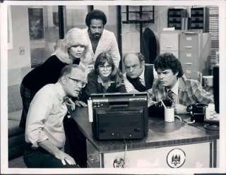 Sanders, Loni Anderson, Tim Reid, Jan Smithers, Gordon Jump and Frank