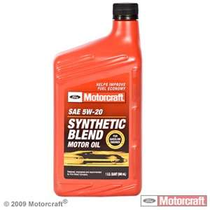 Motorcraft synthetic blend dexos autos post for Pennzoil 5w30 synthetic blend motor oil