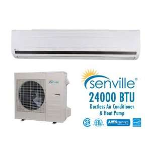 Senville 24000 BTU Ductless Air Conditioner and Heat Pump