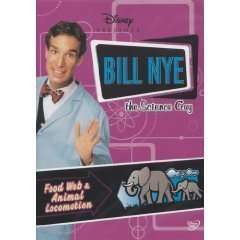DVD BILL NYE THE SCIENCE FOOD WEB ANIMAL LOCOMOTION NEW