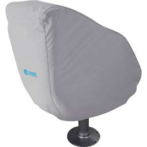 Classic Accessories Hurricane Boat Bucket Seat Cover, Grey Automotive