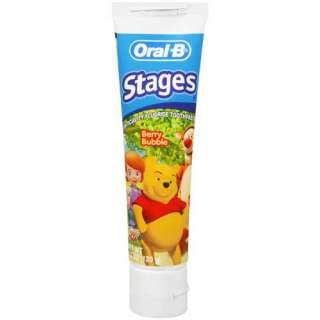 Oral B Stages Berry Bubble Disney My Friends Tigger & Pooh Toothpaste