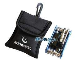 1x New ROSWHLLWaterptoof Bike Bicycle Repair Tool Kit Bag (not repair