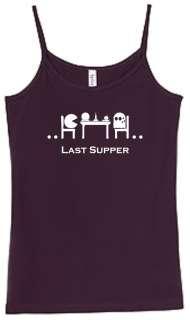 Shirt/Tank   Last Supper   pac man gaming