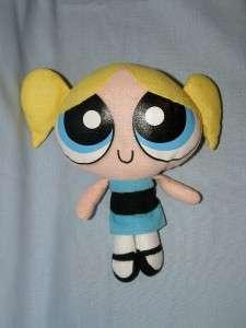 Powerpuff Girls Bubbles, Blossom, Buttercup 8 dolls EUC