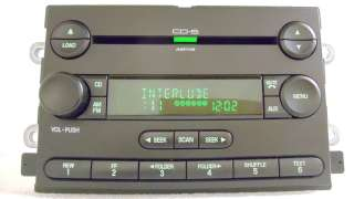 Five Hundred MERCURY Montego Radio  6 Disc CD Changer Player