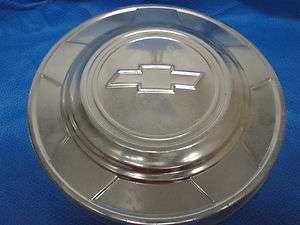 CHEVY CHEVROLET DOG DISH PICKUP TRUCK HUBCAPS 1970 1980S 1/2 TON OEM