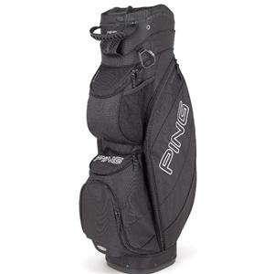 NEW 2012 Ping TRAVERSE BLACK Golf 14 Way CART Bag