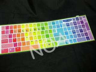Cute Colorful English Desktop Laptop Keyboard Sticker SE01