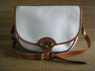 DOONEY & BOURKE WHITE ALL WEATHER LEATHER PURSE/HANDBAG