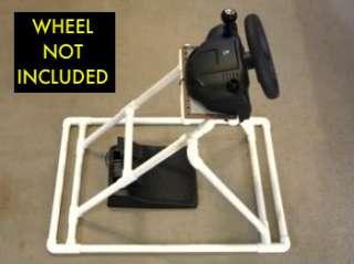 Video Game Sim Racing Steering Wheel Stand 4 Logitech Driving Force GT