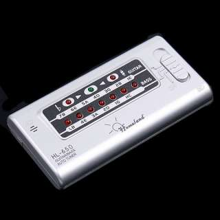 Digital LED Electronic Automatic Tuner for Guitar Bass Sliver