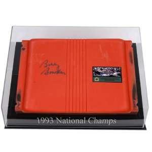 Bobby Bowden Autographed Orange Bowl Stadium Seat with Logo Desktop