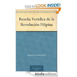 Filipina (Spanish Edition): Emilio Aguinaldo:  Kindle Store