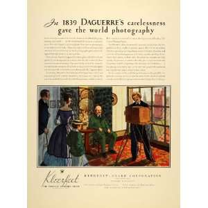 Kleerfect Louis Daguerre Klep   Original Print Ad Home & Kitchen