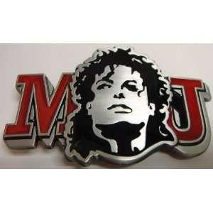 MJ Michael Jackson Belt Buckle