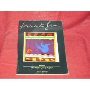 Matisse: Obra Grafica Jazz y Pasiphae: Museo Tamayo: Books